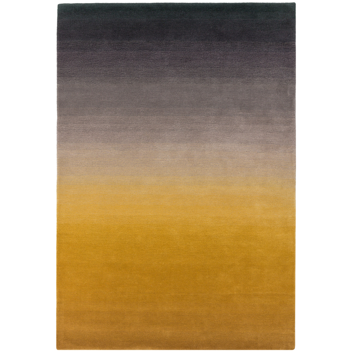 Sunset rug mustard medium
