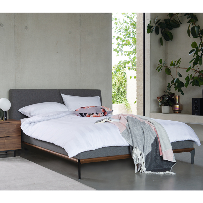 Malmo bed double grey