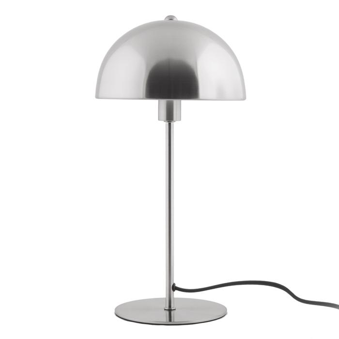 Bonnett table lamp chrome metal