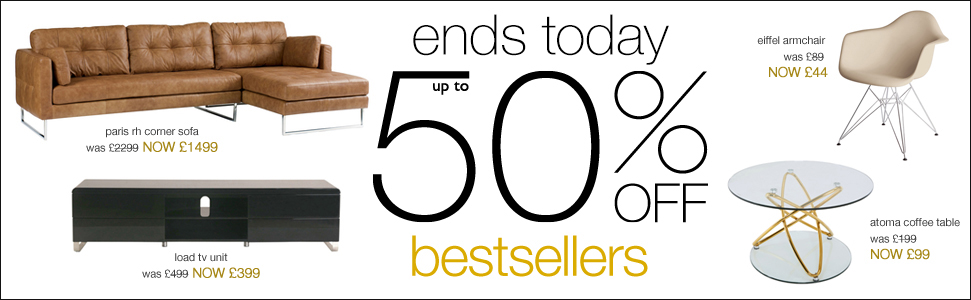 up to 50% off bestsellers