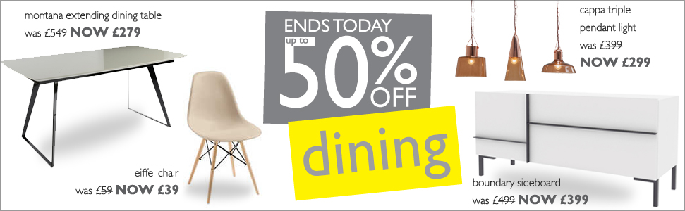 up to  50% off dining