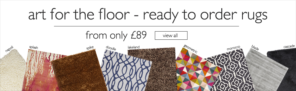 art for the floor - ready to order rugs