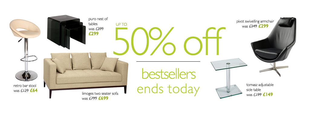 up to 50% off best sellers