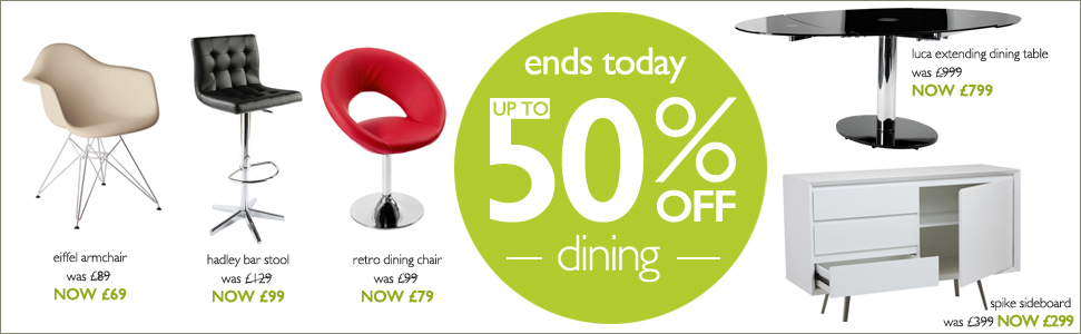 up to 50% off dining - this week