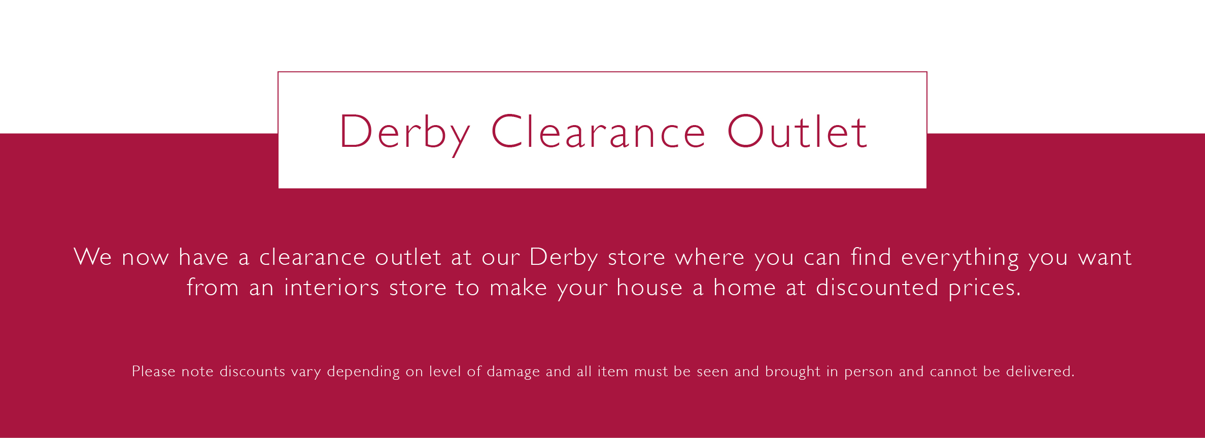 Home · Stores; Derby. Stores