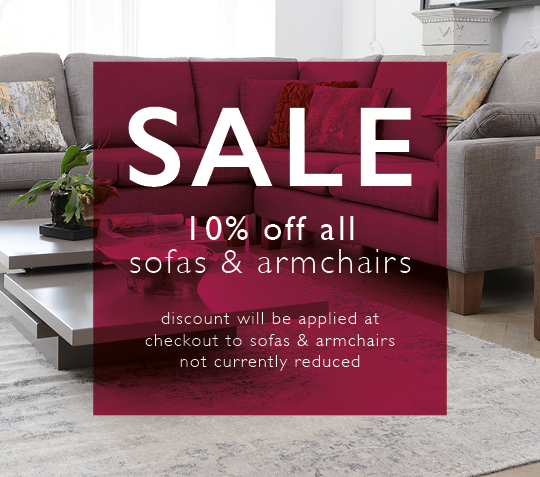 10% off of sofas n armchairs