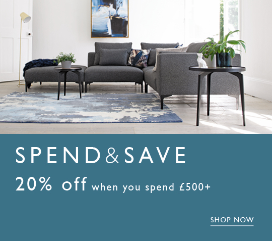 Spend & Save 20% off when you spend over £500